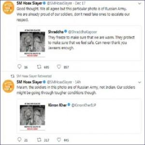 श्रद्धा कपूर हुई ट्रोल का शिकार, इंडियन आर्मी की फोटो शेयर कर कहा ऐसा कुछ
