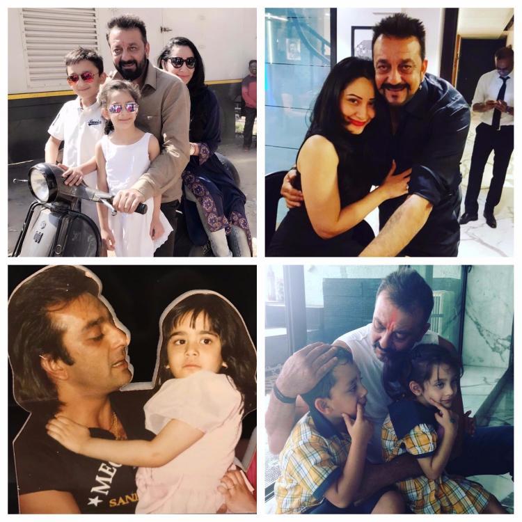 बर्थडे स्पेशल: ये हैं संजय दत्त का परिवार, देखिये ये प्यारी तस्वीरें