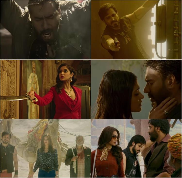 बादशाहो ट्रेलर: अजय देवगन, इमरान हाश्मी के साथ फिल्म में थ्रिलर और एक्शन देगा आपको इंटरटेनमेंट का पूरा डोज़