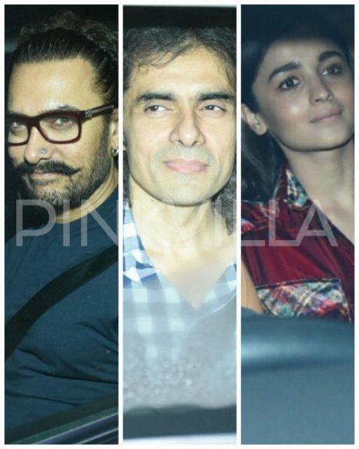 रणबीर कपूर के बर्थडे बैश में पहुंचे आमिर खान, शाहरुख खान से लेकर आलिया भट्ट समेत ये सितारे