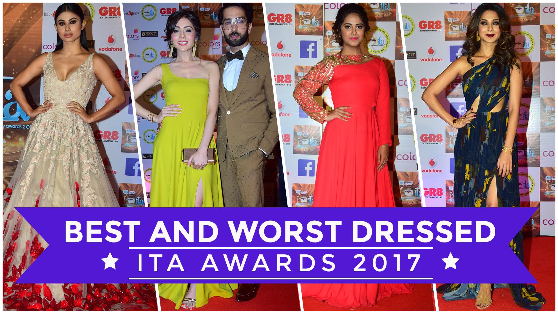 मौनी रॉय, जेनिफर विंगेट और अदा खान समेतदेखिये TV सितारों का ITA Awards बेस्ट और वर्स्ट लुक