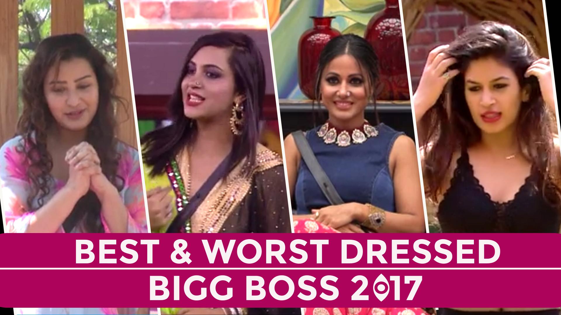 Video: अर्शी खान नाइटी के बिना हिना खान को दे रही मात, देखें Bigg Boss 11 के BEST और WORST Dressed