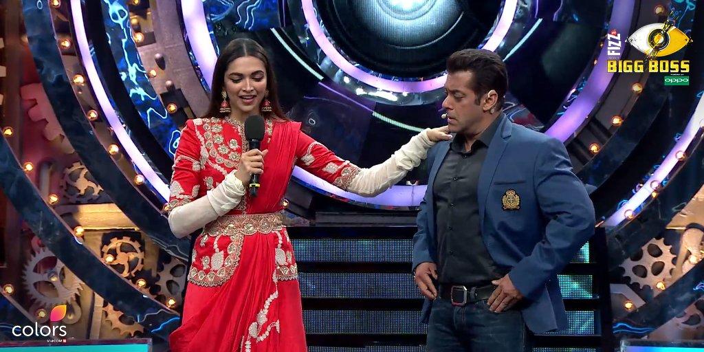 Big Boss 11में सलमान खान के सामने रणवीर सिंह को लेकर क्या सफाई दे रही हैं दीपिका पादुकोण