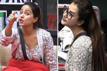शिल्पा शिंदे ने नहीं बनाया नाश्ता तो हिना खान लग गयी रोने