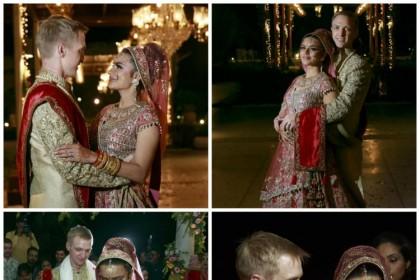 देखिये आशका गोरडिया और ब्रेंट गोबले की शादी के फ़ोटोज़
