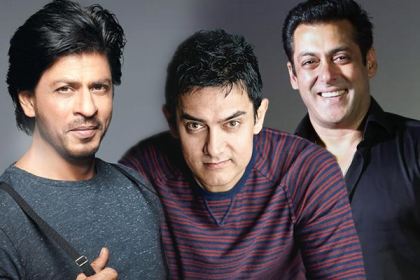 Shah Rukh khan Salman khan and Aamir khan