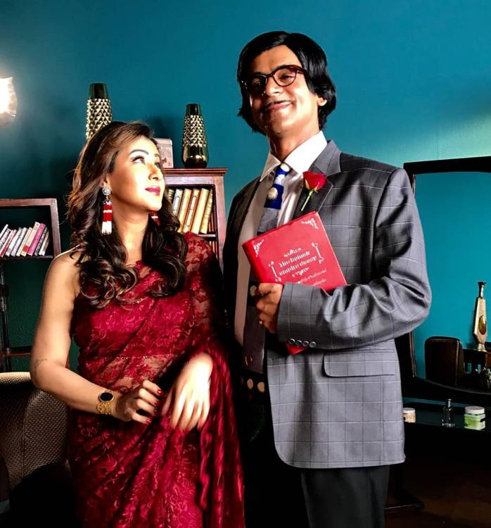 शिल्पा शिंदे और सुनील ग्रोवर ने किया रोमांटिक डांस, वीडियो हो रहा वायरल