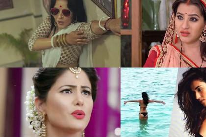 शिल्पा शिंदे और हिना खान है आज की ख़बरों में, मोनालिसा और दिशा ने बिखेरा जलवा