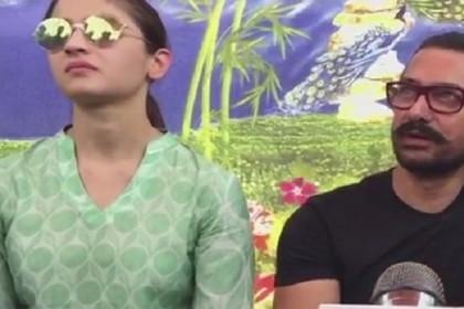 पानी बचाव आंदोलन में आमिर खान के साथ उतरीं आलिया भट्ट