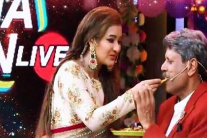 शिल्पा शिंदे और कपिल देव का रोमांटिक डांस वीडियो वायरल