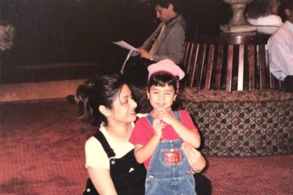 जाह्नवी कपूर को आई माँ श्रीदेवी की याद, पोस्ट की ये OLD Photo