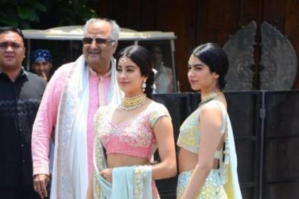 सोनम कपूर की शादी में ऐसा है जाह्नवी कपूर और ख़ुशी कपूर का जलवा