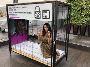 जबरदस्ती बाल वेश्यावृत्ति और बाल तस्करी के बारे में जागरूकता फैलाने के मिशन पर मल्लिका