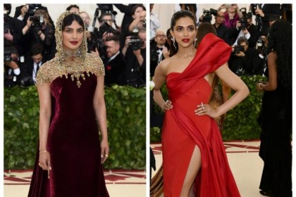 मेट गाला 2018 में दीपिका पादुकोण और प्रियंका चोपड़ा का लुक है ऐसा, आप ही चुनिए कौन है बेस्ट?