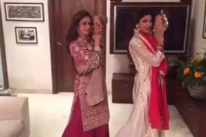 जब श्रीदेवी ने किया था सोनम कपूर के इस गाने पर डांस, देखिये वीडियो