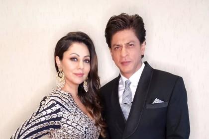 शाहरुख़ खान और गौरी साथ में आये नज़र,ऐसा दिखा ये कपल