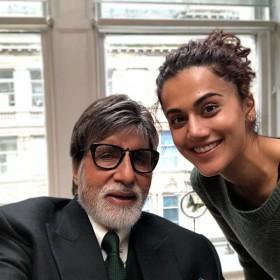 तापसी पन्नू और महानायक अमिताभ बच्चन एक बार फिर साथ में करेगे फिल्म, इस बार लेंगे बदला