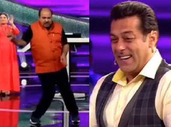 डांसिंग अंकल ने छू लिया दिल, सलमान खान ने शेयर किया वीडियो