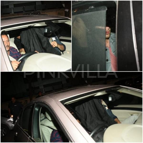 प्रियंका चोपड़ा बॉयफ्रेंड निक जोनस के साथ पहुंची मुंबई, काले कपडे से छिपाया मुंह
