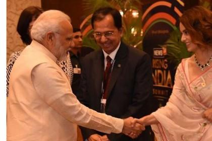 कंगना रनौत : देश को गड्ढे से निकालने के लिए 5 साल बहुत कम, मोदी दोबारा बनें PM