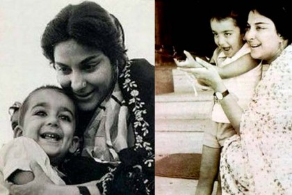 नरगिस और सुनील दत्त के लाडले है संजय दत्त, देखिए कुछ अनदेखी तस्वीरें