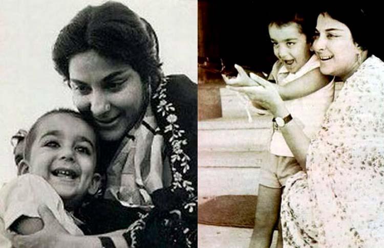 बर्थडे स्पेशल: बचपन में अपनी माँ नरगिस दत्त के कॉपी थे संजय दत्त, पहले कभी नहीं देखी होंगी ऐसी तस्वीरें