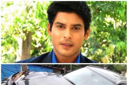 सिद्धार्थ शुक्ला ने तीन गाड़ियों को मारी ठोकर, ऐसा हुआ हाल