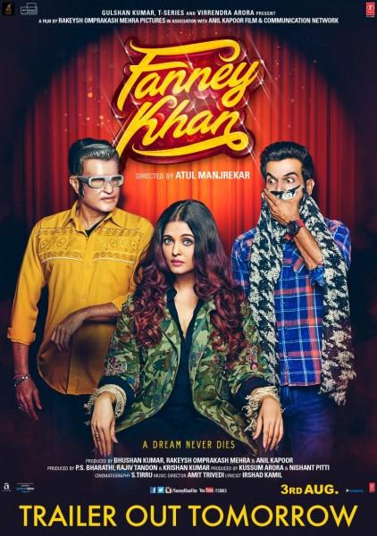 ऐश्वर्या राय को कुर्सी से बांधे फन्ने खान के नए पोस्टर में नज़र आये रजनीकांत