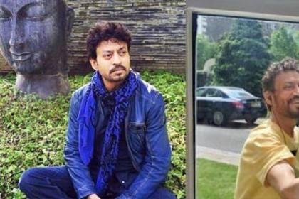 बीमारी के बाद घटा इरफान खान का वजन, सामने आई पहली तस्वीर