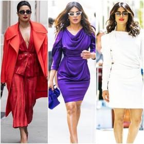 प्रियंका चोपड़ा के इन हॉट तस्वीरों से नज़रें हटाना होगा मुश्किल, देखिये 10 सबसे फैशनेबल LOOKS