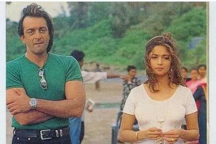 संजय दत्त और माधुरी के रिश्ते ने तोडा था वाइफ ऋचा का दिल