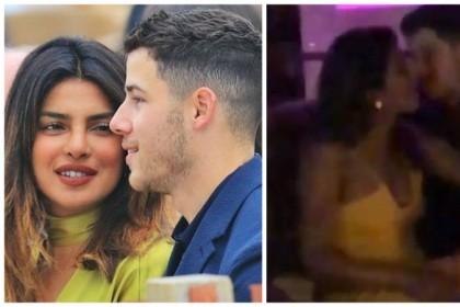 प्रियंका चोपड़ा और निक जोनस ने पब्लिकली किया KISS, वीडियो हुआ वायरल