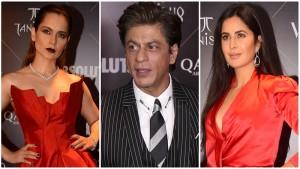 कंगना रनौत और कटरीना ने पहनी एक जैसी ड्रेस, शाहरुख़ खान का स्टाइलिश अंदाज़ देख उड़ेंगे होश