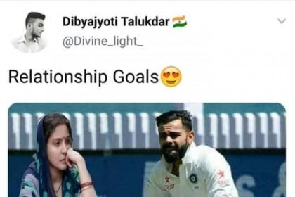 विराट कोहली के मैच से लेकर प्रियंका की सगाई में बैठी 'ममता', सोशल मीडिया पर उड़ा अनुष्का शर्मा का मजाक