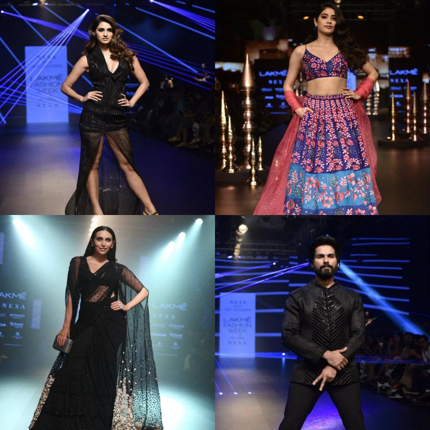 LFW 2018: शाहिद कपूर, जान्हवी कपूर, दिशा पाटनी ने दिखाया अपने फैशन का जलवा