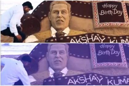 देखिये अक्षय कुमार के जन्मदिन पर उन्हें मिला ये कौन सा स्पेशल गिफ्ट