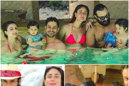 करीना कपूर खान और सैफ अली खान के वेकेशन की इन तस्वीरों से नहीं हटा पाएंगे नज़र, यहाँ देखिये दिलचस्प PHOTOS