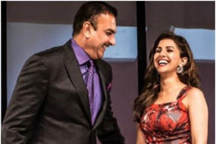 निम्रत कौर और रवि शाष्त्री के डेट करने की खबर जैसे ही आयी इंटरनेट पर हंगामा मच गया और...