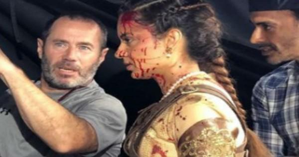 Manikarnika फिल्म के लिए कंगना रनौत ने बहाया खून, सिर में लगे 16 टांके