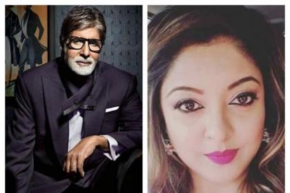 नाना पाटेकर विवाद: अमिताभ बच्चन की चुप्पी पर भड़की तनुश्री दत्ता