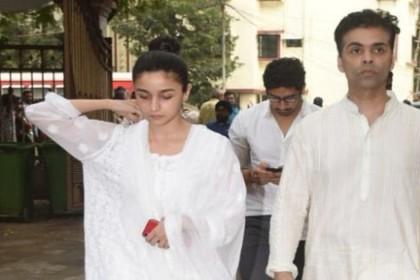 दुख की घड़ी में कपूर फैमली के साथ खड़ी दिखीं आलिया भट्ट, RK को करती रहीं कॉल
