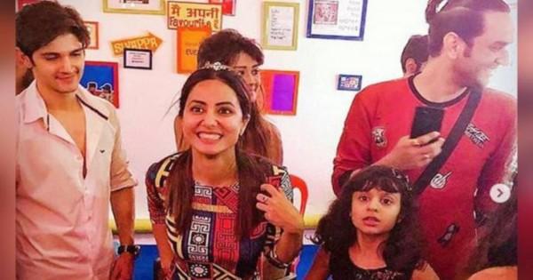 हिना खान ने बर्थडे पर किया सपना चौधरी के गाने पर डांस, केक लगाते नजर आए विकास गुप्ता