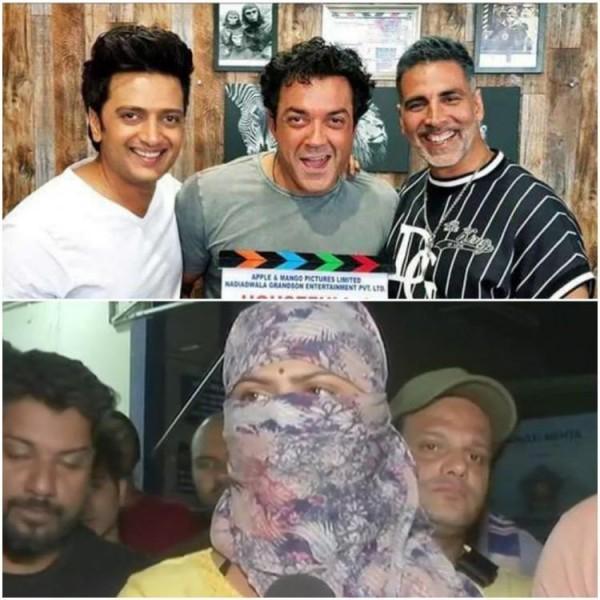 फिल्म हाउसफुल 4 के सेट पर हुई छेड़छाड़! अक्षय कुमार और रितेश देशमुख पर लगा ऐसा आरोप