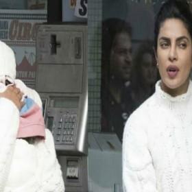लंदन की गलियों में बच्चे को गोद में लिए घूमते नजर आई प्रियंका चोपड़ा, फोटो हुई वायरल