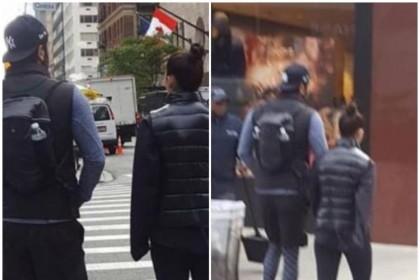 मैचिंग आउटफिट पहने न्यूयॉर्क में स्पॉट हुए आलिया भट्ट और रणबीर कपूर