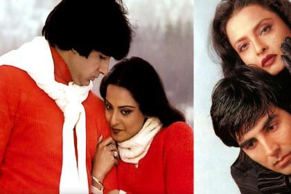 Happy Birthday Rekha: अमिताभ बच्चन ही नहीं इन सितारों के साथ भी रहा अफेयर