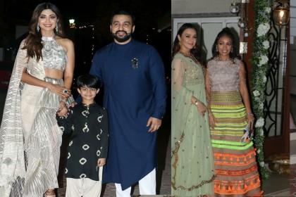 शिल्पा शेट्टी की दिवाली पार्टी में जगमगाए ये बॉलीवुड के सितारें, देखें शानदार तस्वीरें