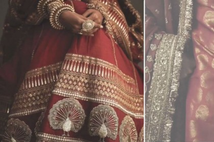 DeepVeer Wedding: शादी के 'जोड़े' को बनाने में सब्यसाची ने की जी तोड़ मेहनत, Video में देखिए कारीगरी