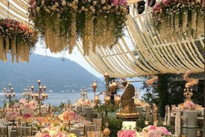 सामने आईं दीपवीरकी शादी समारोह की तस्वीरें, शाही महल की तरह सजा है विला