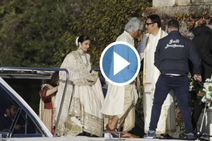 'दीपवीर' की शादी के VIDEOS आए सामने, दूल्हा-दुल्हन रणवीर सिंह और दीपिका पादुकोण यूं आए नजर